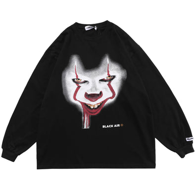 Dark Clown Long Sleeve Tee