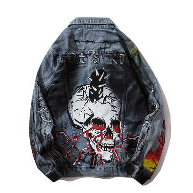 SKULL DENIM JACKET