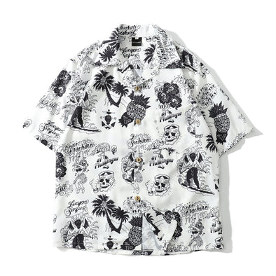 PINEAPPLE SKULL SHIRT