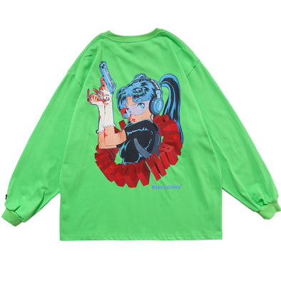 Beauty Soldier Long Sleeve Tee