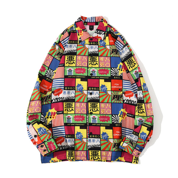 Harajuku 悪 Long Sleeve Shirt