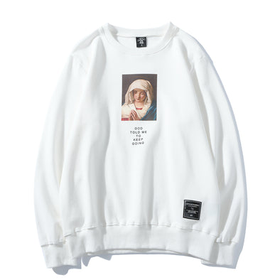 VIRGIN MARY SWEATSHIRT