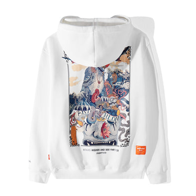 HIGHER&FARTHER HOODIE