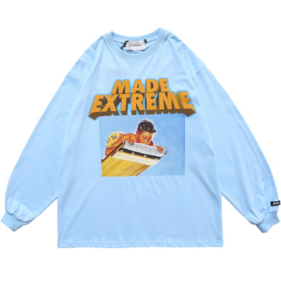 Kid Illustration Long Sleeve Tee
