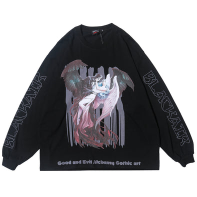 GOTHIC ART LONG SLEEVE SHIRT