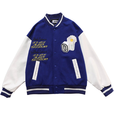 Daisy Apartment Letterman Jacket