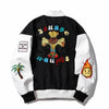 Embroidered Letterman Jacket JDSQ17