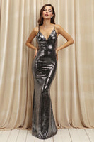 Lydia Sequin Prom Dress