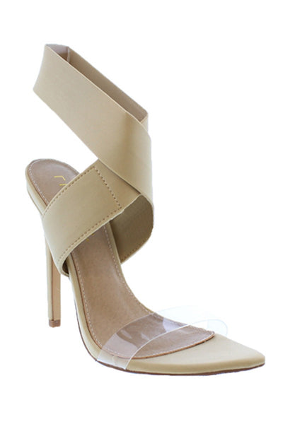Goloza Wrap-around Pointy Toe Sandals