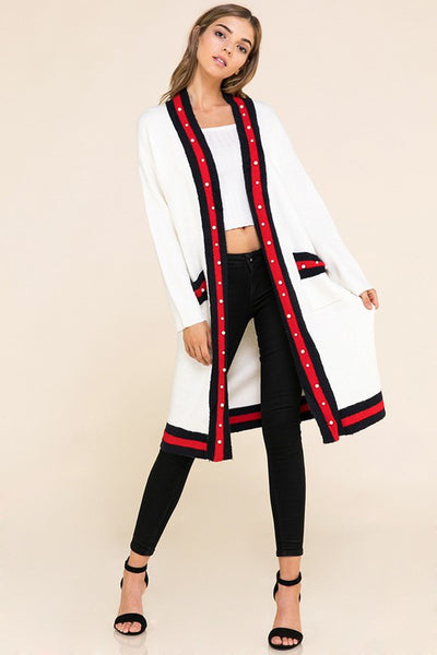 All About the Details Cardigan Sweater