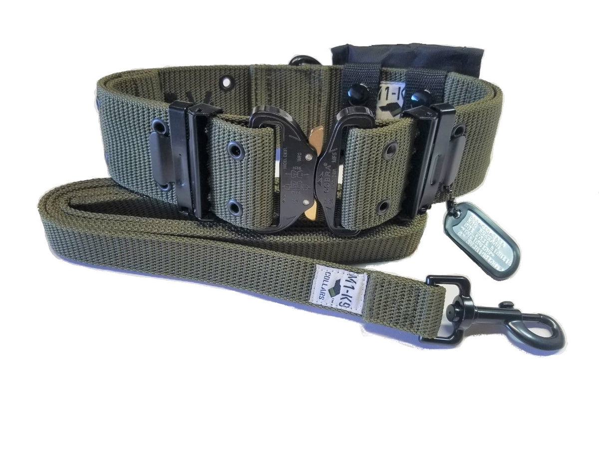 Tactical dog collar, Military dog collar, heavy duty,  durable, strong