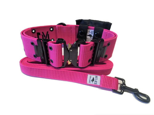 M1-K9 Collar, Gen. 3 Pro Series, Hot Pink, Adjustable 16