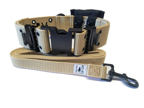 M1-K9 Collar, Gen. 3, Desert Tan, Adjustable 16