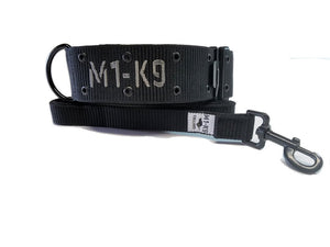 dog collar, tactical, heavy duty, large, military, wide, big, cobra buckle,