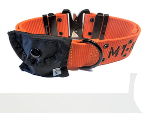 "M1-K9 Collar, Gen 3. Pro Series, Safety Orange, Adjustable 16""-26"""