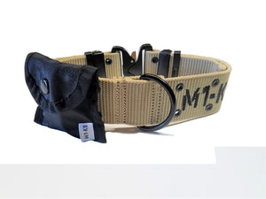 "M1-K9 Collar, Gen. 3 Pro, Desert Tan, Adjustable 16""-26"""