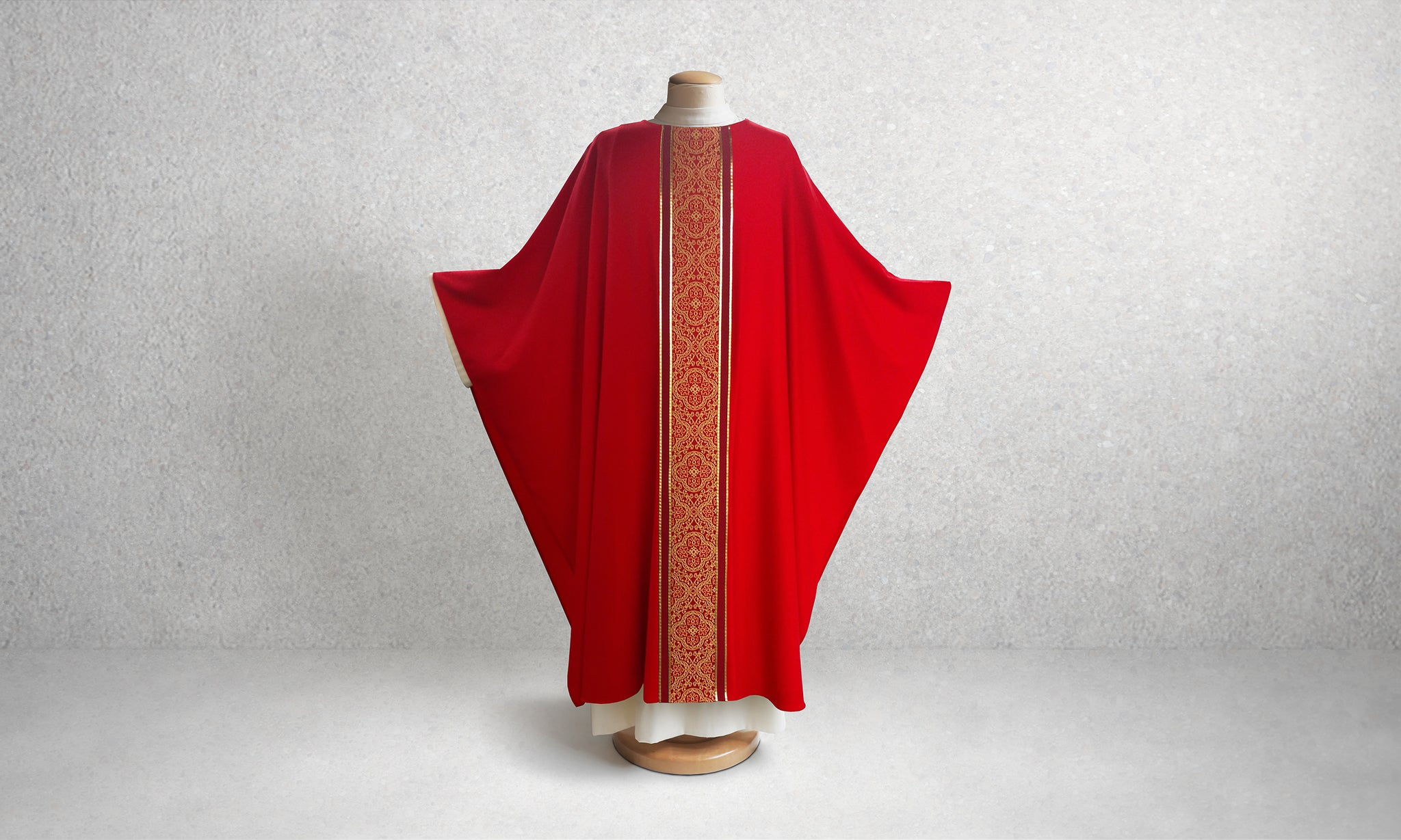 601 Classic Chasuble <br> in Red