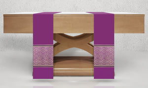 601 Classic Altar Scarves in Purple