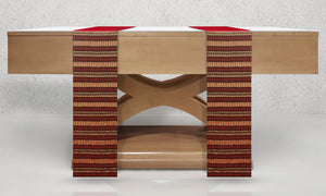 Almasi Woven Altar Scarves in Red