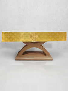 Celtic Cross Altar Frontal in Gold