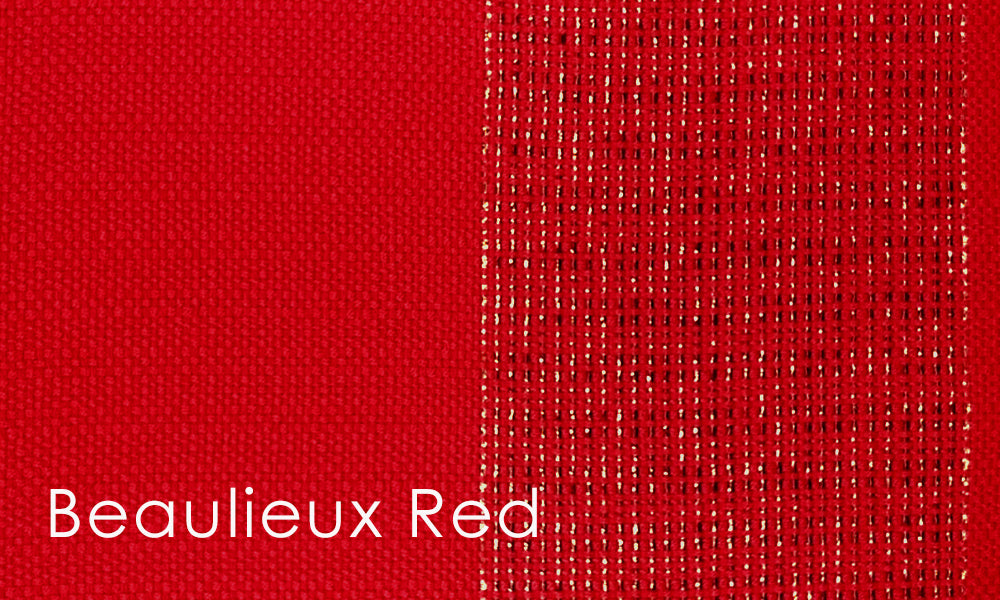 Beaulieux Woven Altar Scarves in Red