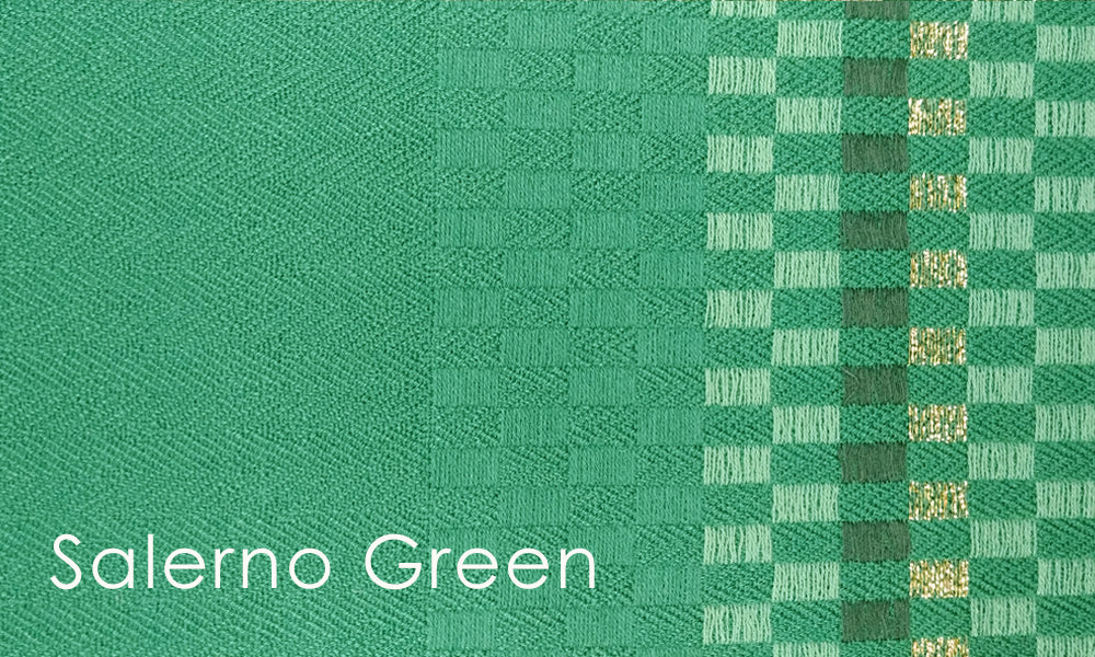 Salerno Woven Altar Scarves in Green