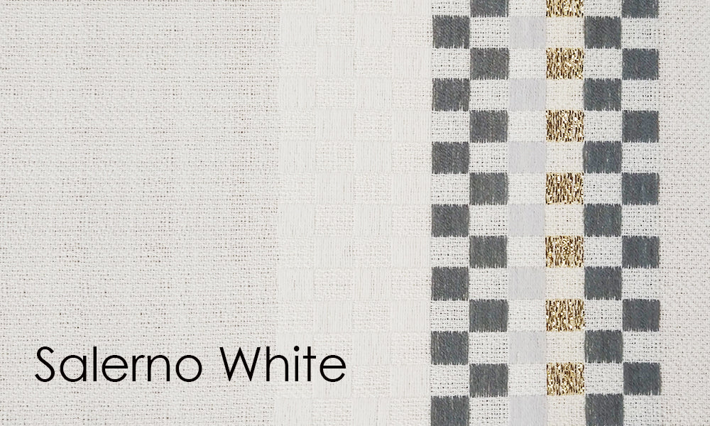 Salerno Woven Altar Scarves in White