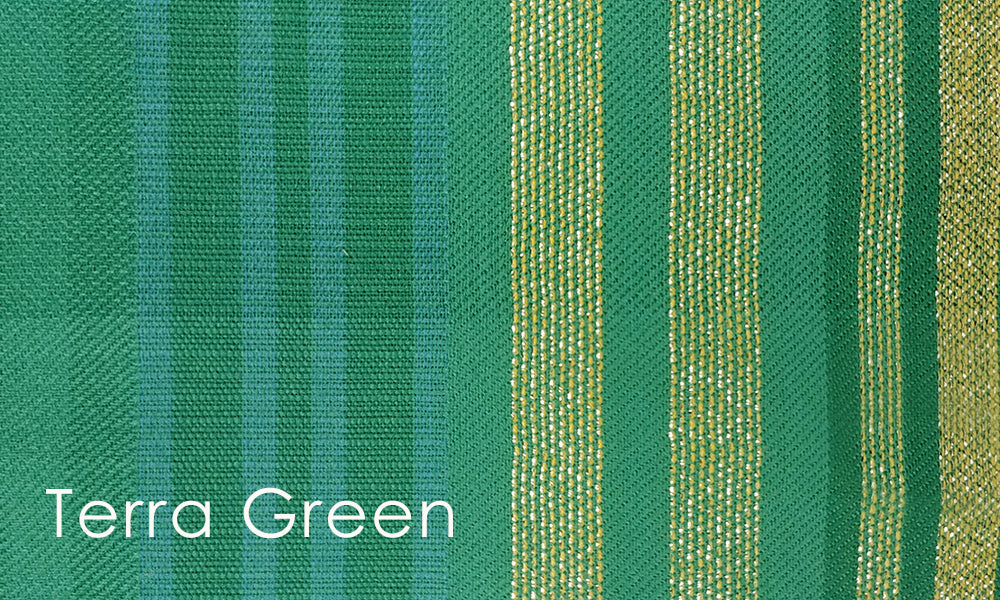 Terra Woven Altar Scarves in Green
