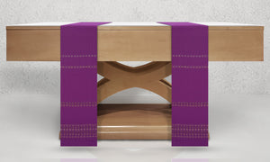Raphael Woven Altar Scarves in Purple