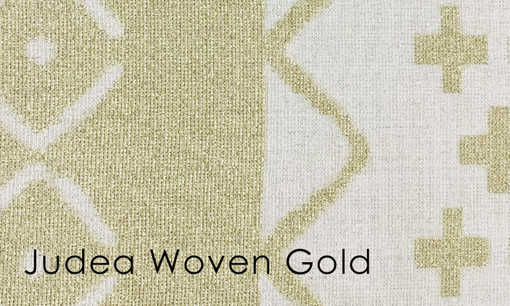 Judea Woven Altar Scarves in Gold