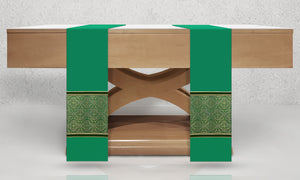 601 Classic Altar Scarves in Green
