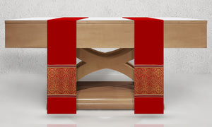 601 Classic Altar Scarves in Red