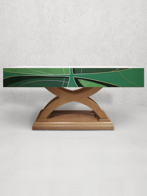 811 Cross <br> Altar Frontal <br> in Green