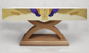 988 Altar Frontal <br>in Gold and White