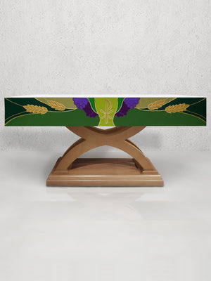 988 Altar Frontal <br>in Green
