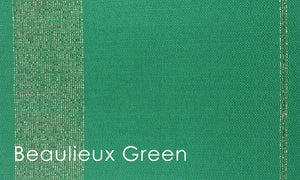 Beaulieux Woven Altar Scarves in Green