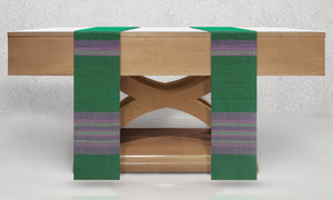 Assisi Woven Altar Scarves in Green