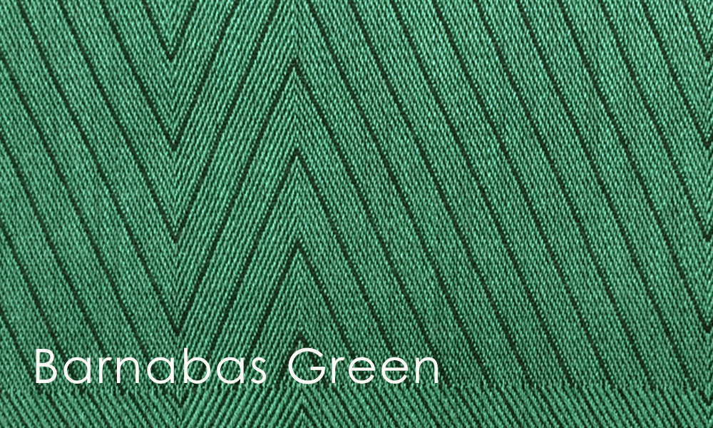 Barnabas Woven Altar Scarves in Green