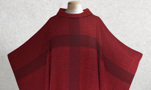 Barnabas Woven Chasuble in Red