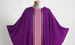 601 Classic Chasuble <br> in Purple