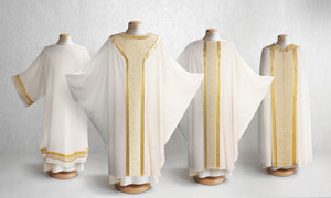601 Classic Chasuble <br> in White