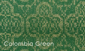 Columbia Woven Altar Scarves in Green