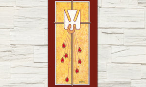 Printed Holy Spirit Banner