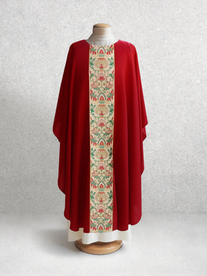 Irina Tapestry Chasuble <br> in Red
