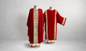 Irina Tapestry Dalmatic <br> in Red