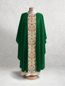Irina Tapestry Chasuble <br> in Green