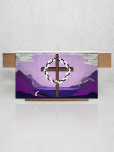 Cross and Crown <br> Lent Altar Frontal