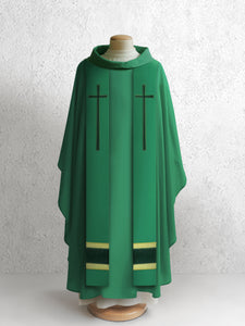 378 True Cross Stole <br> in Green