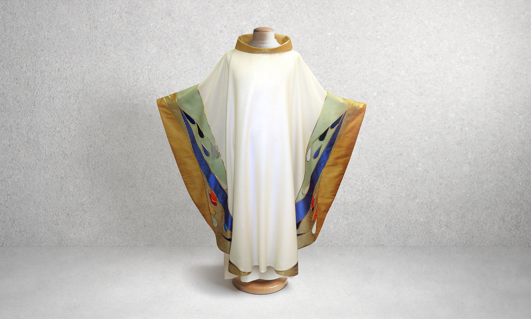 Contemporary Water Design Chasuble