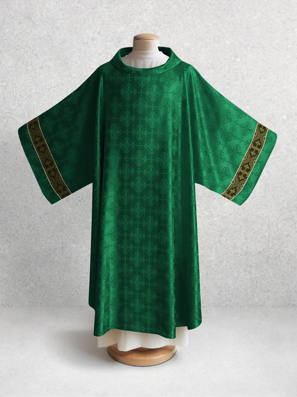 Classic Francis <br> Dalmatic <br> in Lucia Green